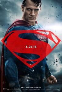 Batman vs Superman Superman poster