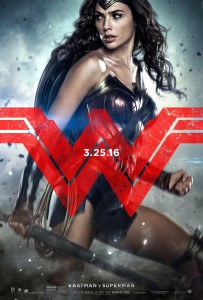 Batman vs Superman Wonder woman poster