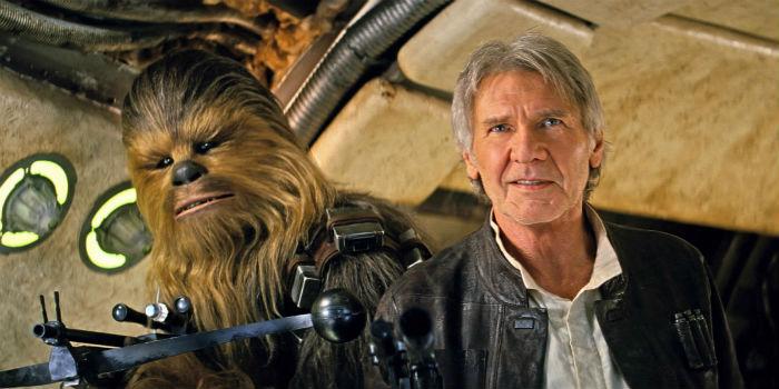 Force Awakens Solo Chewbacca