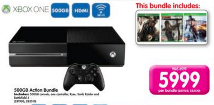 Xbox ONe bundle Makro