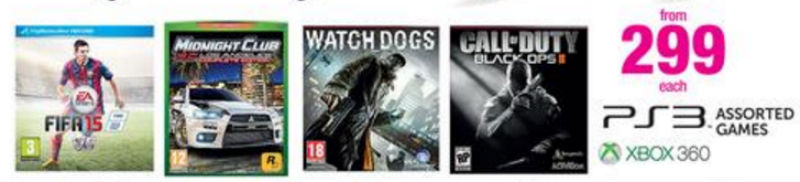Game specials PS3 Xbox One