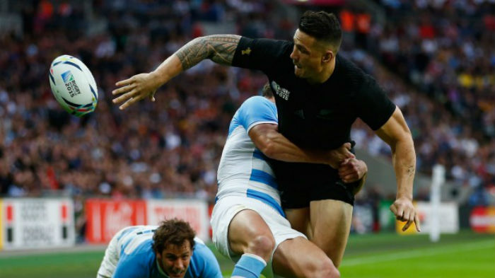 Sonny Bill Williams offload