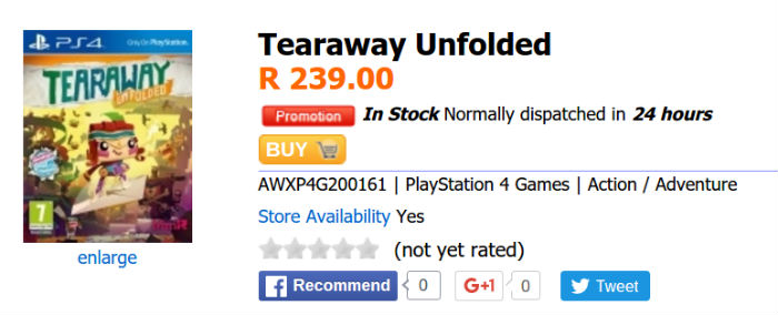 Tearaway special Animeworx