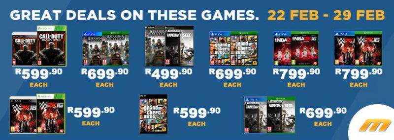 BT Games specials