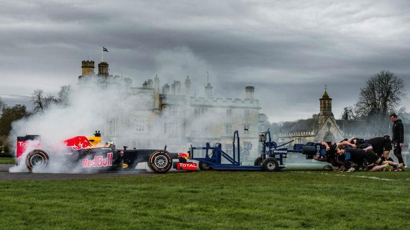 F1 vs bath rugby