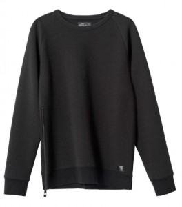 Sweatshirt with zip - R499