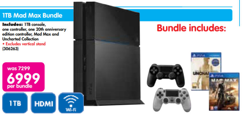 PS4 special Makro