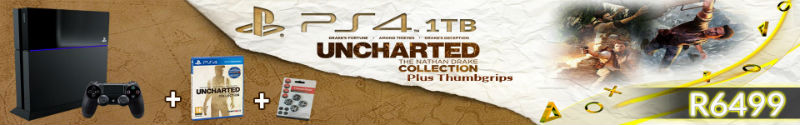 Uncharted PS4 bundle Game 4 U