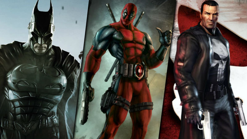 Violent superhero games