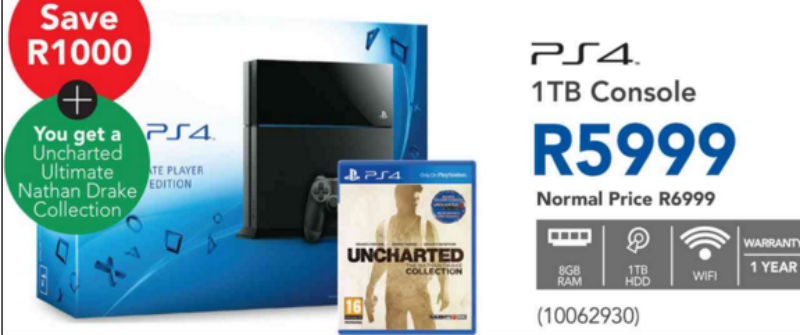PS4 Unchartted Bundle Incredible