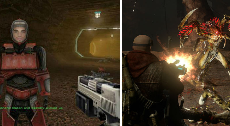 Red Faction compare