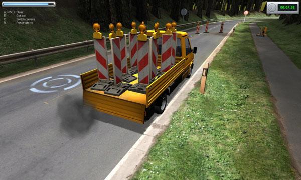 Road-construction-simulator