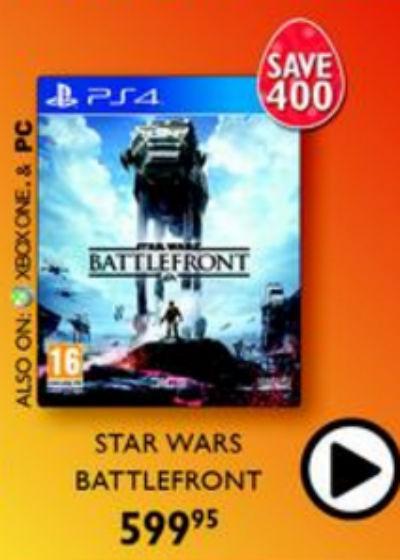 Star Wars Battlefront Musica special