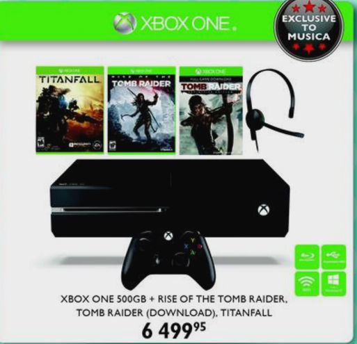 Xbox ONe bundle Musica