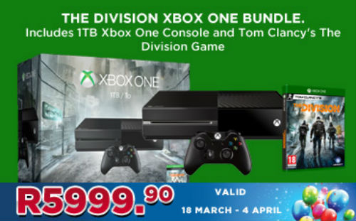 Xbox One Division Bundle
