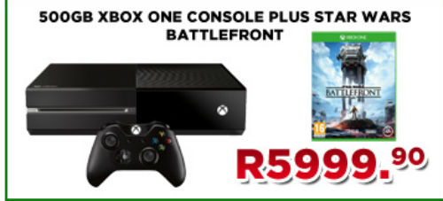 Xbox One and Battlefront deal