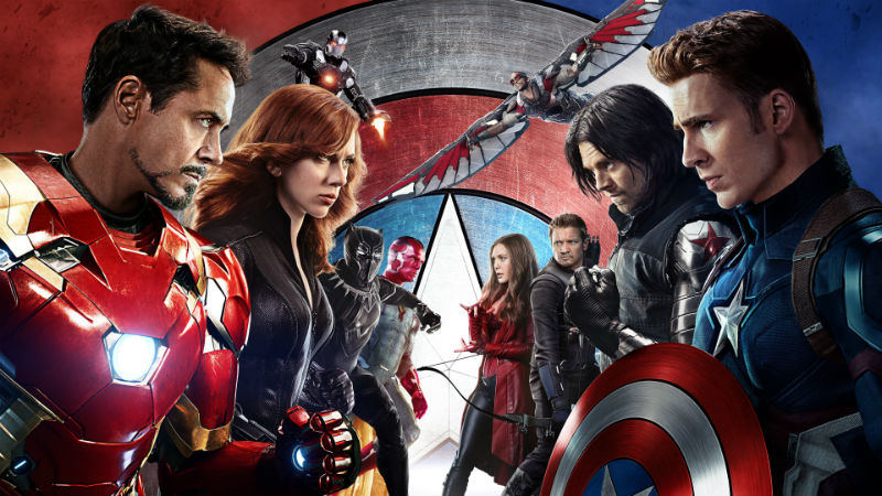 Captain America Civil War header movie