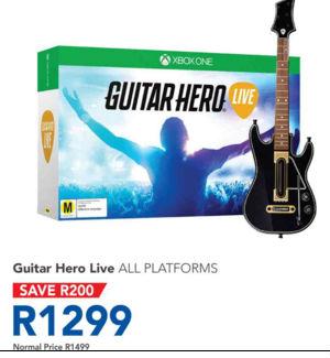 Guitar Hero Live special