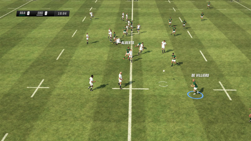 Rugby Challenge 3 screenshots PS4