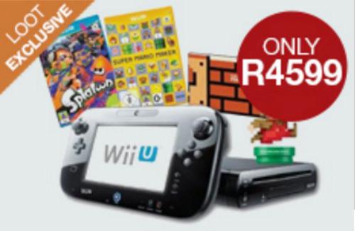 Nintendo Wii U bundle Loot