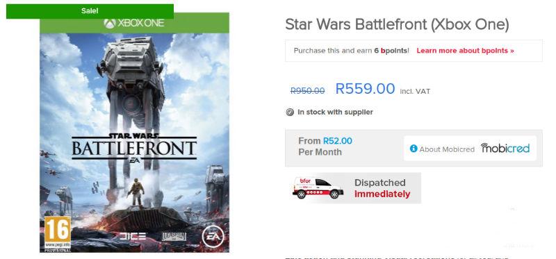 Star Wars Battlefront Bfor special