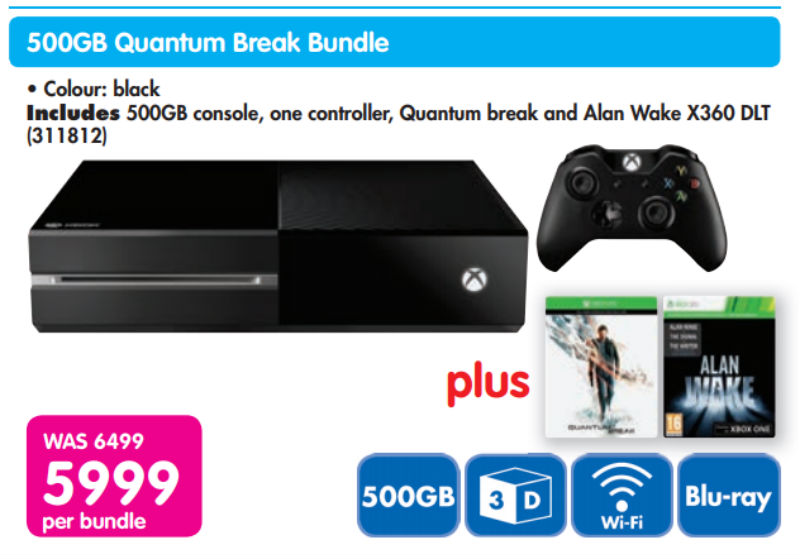 Xbox One bundle Quantum special