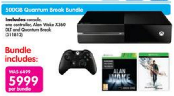 Xbox One special and games Makro
