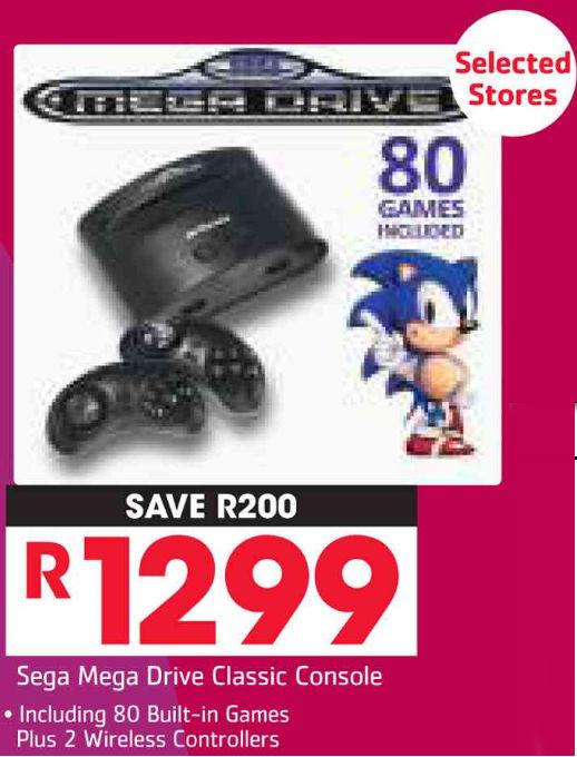 Sega Mega Drive Pick n Pay