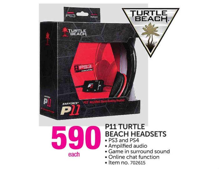 Turtle Beach headphones P11