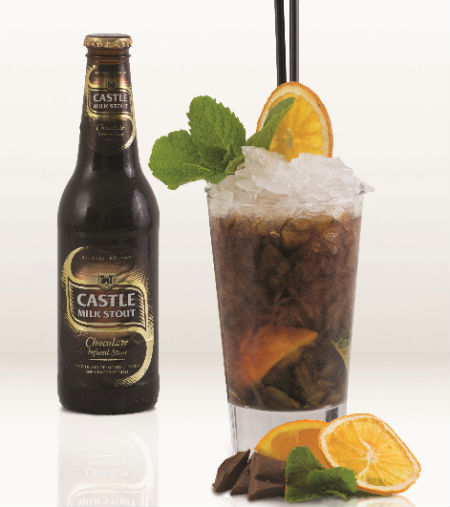 Castle Stout cocktail