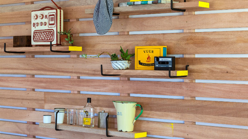 DIY Rack Shelves