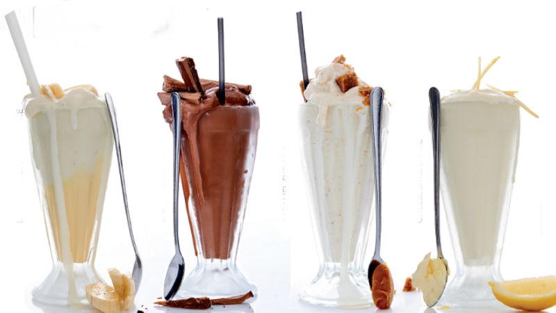 Gibsons milkshakes