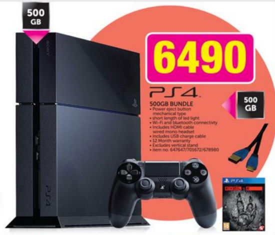 PS4 game special