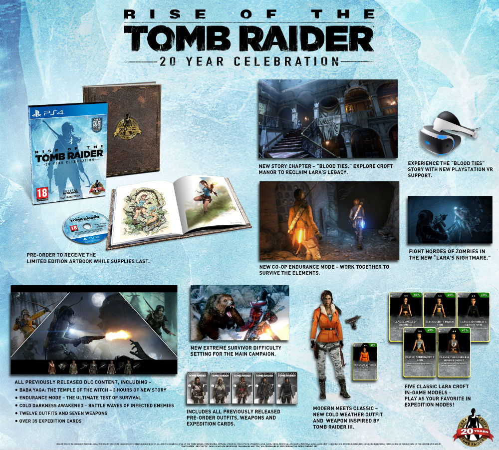 Rise of the Tomb Raider PS4 edition