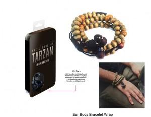 Ear Bud Bracelet Wrap