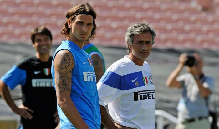 Zlatan and Mourinho