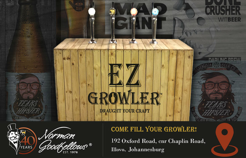 EZ Growlers filling station