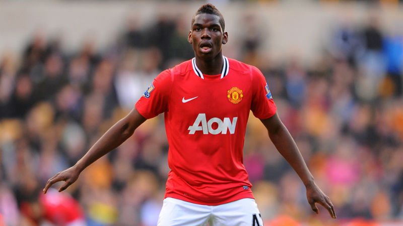 Paul Pogba Manchester