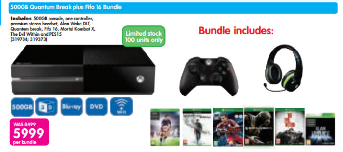 Xbox One Makro bundle 2