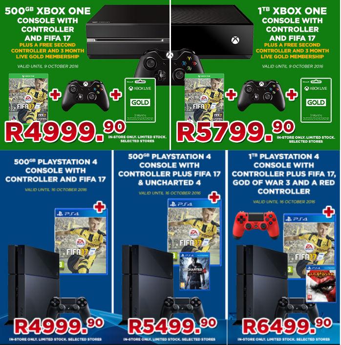 BT console specials