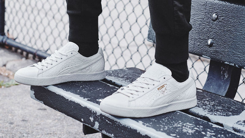 Puma Clyde Dressed Pack white
