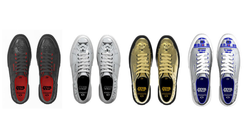 Superga Star Wars collection header