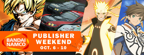 Bandai-Namco-Publisher-Weekend