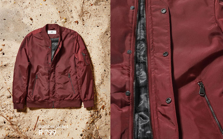 David Beckham Modern Essentials bomber