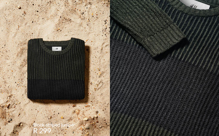 David Beckham Modern Essentials pullover
