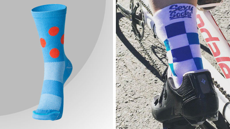 Sexy Socks cycling
