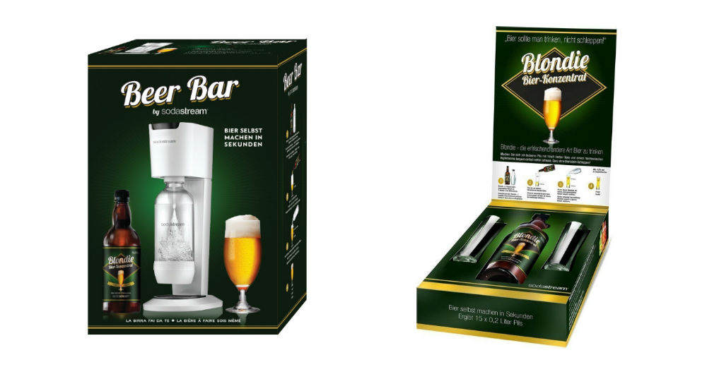 SodaStream Beer bar product
