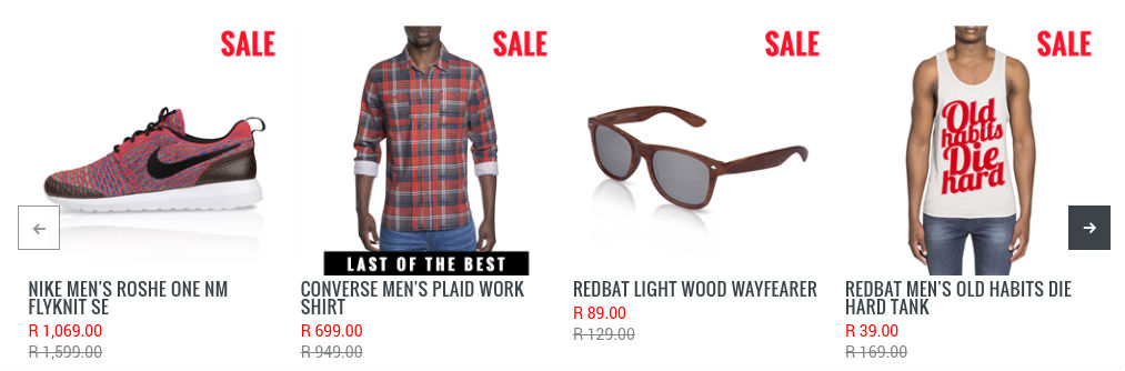 9b14567dcaf6 Biggest Fashion Sales this Weekend