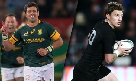 Springboks v All Blacks