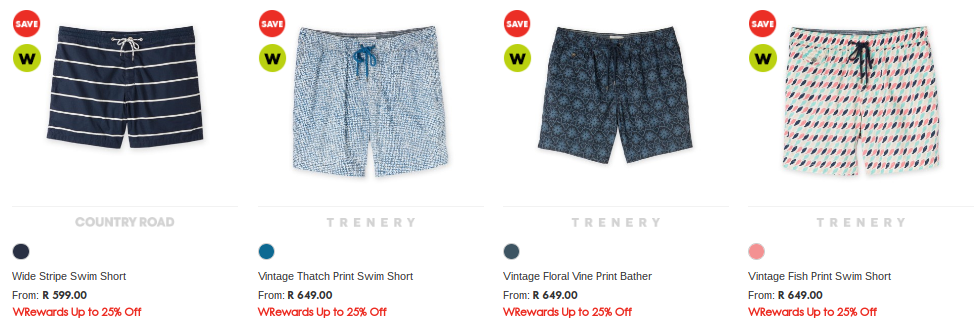 Woolworths summer shorts